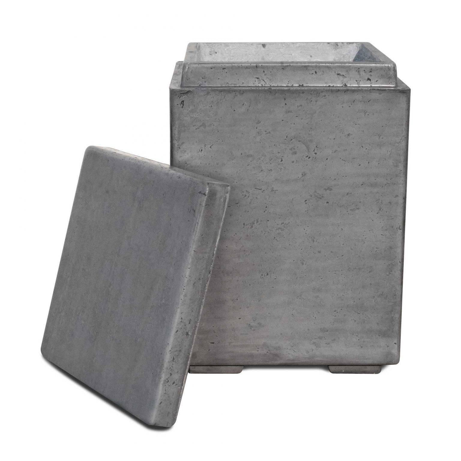 Concrete Propane Tank Enclosure