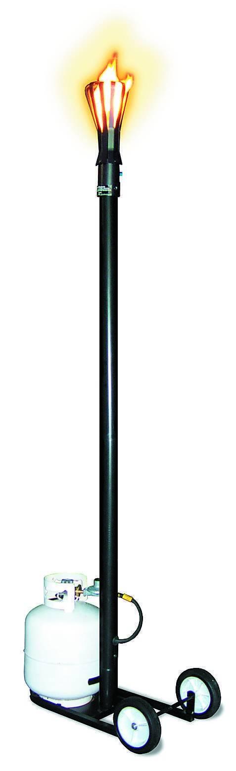 Portable Finger Style Gas Tiki Torch
