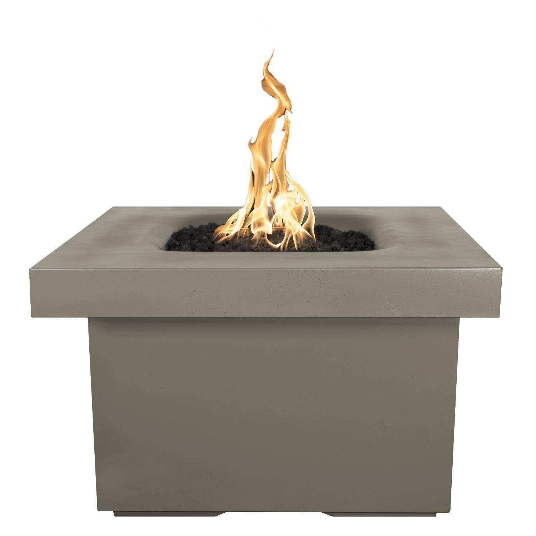 "36"" Ramona Square Fire Pit Table - Ash"