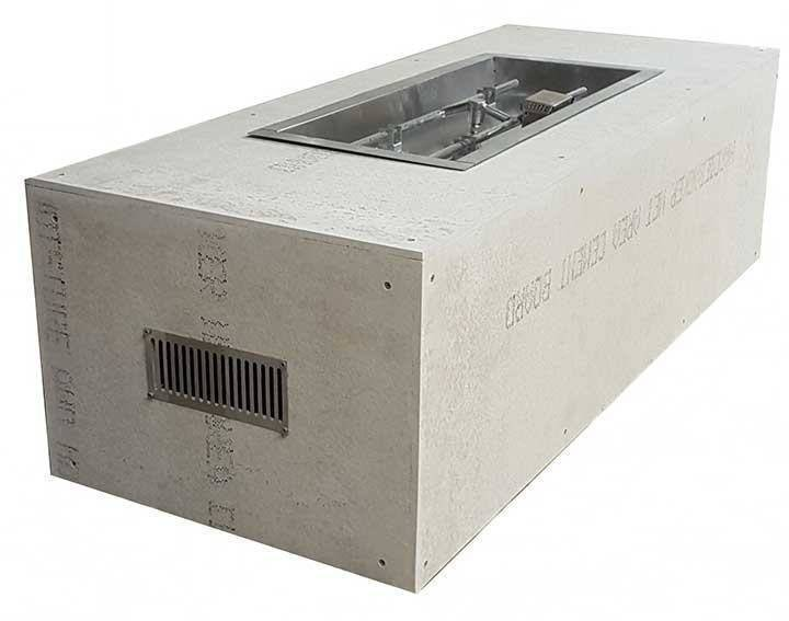"""60"""" x 24"""" Rectangle. H-Burner 