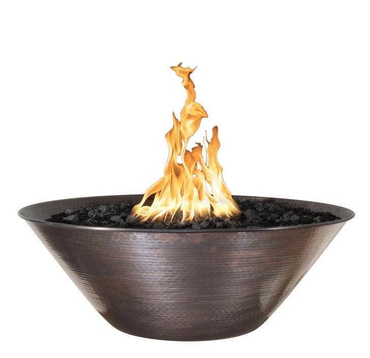 "31"" Remi Copper Fire Bowl - Hammered Copper"