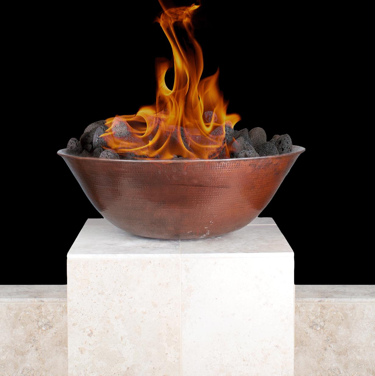 """31"""" Copper Fire Bowl"""
