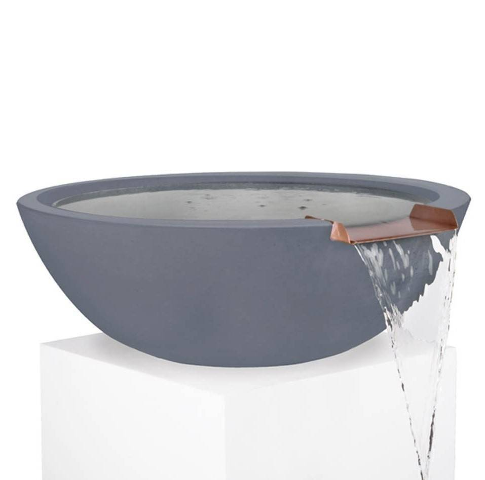 "33"" Sedona Pool Water Bowl - Grey"