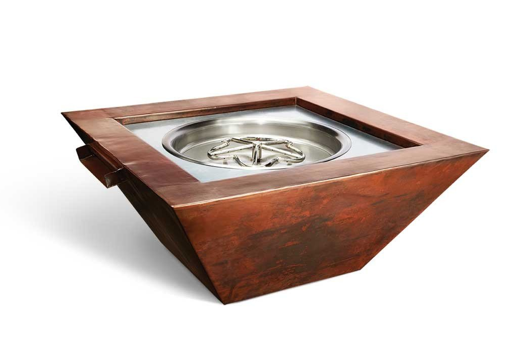 """36"""" Sierra Copper Fire and water Bowl"""