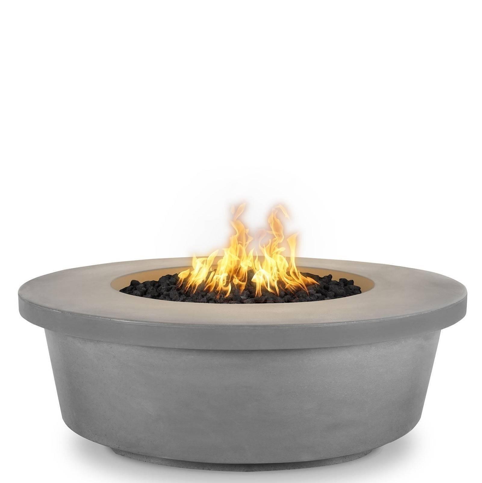 "48"" Tempe Concrete Fire Pit Table - Natural Grey"