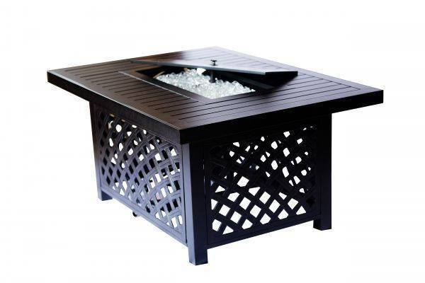 The Minnetonka - Rectangular Aluminum Fire Pit