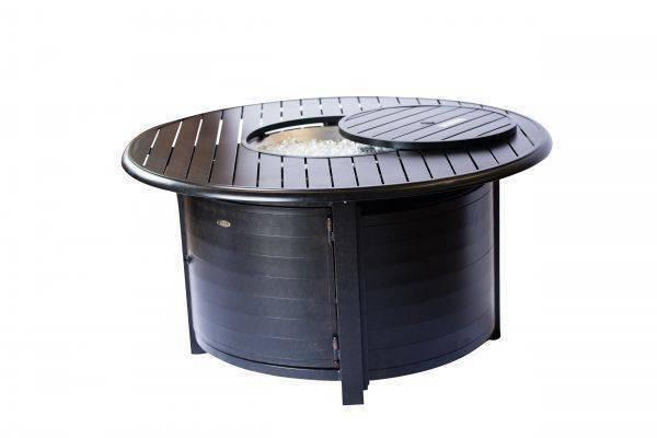 The Wayzata - Rectangular Aluminum Fire Pit