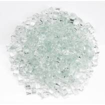 "1/2"" Clear Fire Glass"