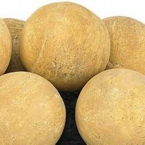 "Sundance Yellow Lite Stone Ball Set 4"" Uniformed Sets 