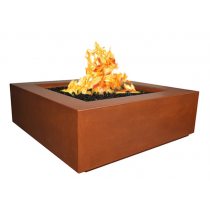 "42"" x 42"" Aura Fire Table - Sequoia"