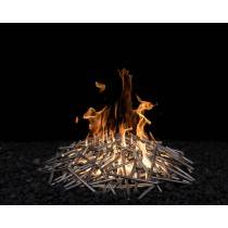 Milled Steel Nest - Includes Burner | Starting at $1,025