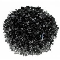 "1/4"" Black Fire Glass"