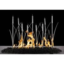 Cat Tail Fire Burner - Stainless Steel - Includes Burner | Starting at $1,075