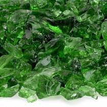 Green Fire Pit Glass