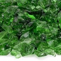 Green Fire Pit Glass
