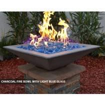 """Concrete Fire Bowl Square 18"""""""