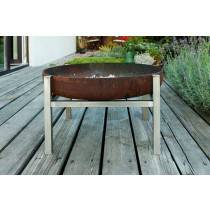 Wood Fire Pit Lucio | Tall