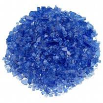 "1/4"" Cobalt Blue Fire Glass"