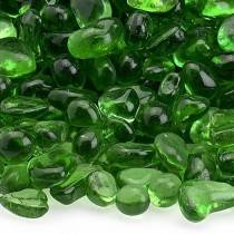 Jade Green Recycled Fire Glass