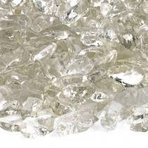 Crystal White Recycled Fire Glass