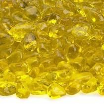 Lemon Yellow Recycled Fire Glass
