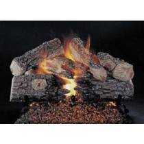 Ceramic Log Set Evening Prestige 24''