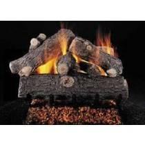 Ceramic Log Set Prestige Oak 24''