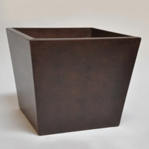 "22"" x 19"" Kona Short Planter - Burnt Terr Cotta"
