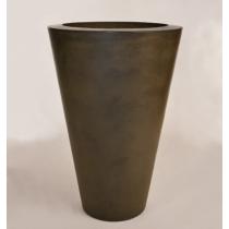 "24"" x 36"" Essex Vase Planter Bowl - Urban Slate"