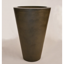 "28"" x 42"" Essex Vase Planter Bowl - Urban Slate"
