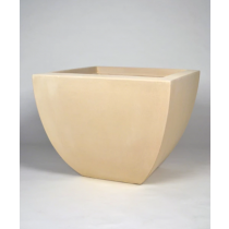 "24"" Grenada Small Square Planter - Autumn Beige"