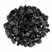 Black Fire Pit Glass Top