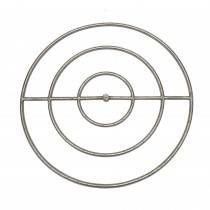 "36"" Stainless Steel Round Gas Fire Ring"