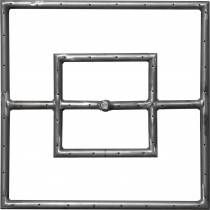"""18"""" x 18"""" Gas Fire Ring Fire Pit Burner"""