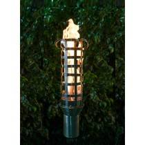 Contemporary Top Torch - Gas Tiki Torch