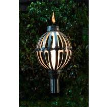 Sphere Top Torch - Gas Tiki Torch