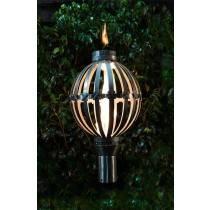 Sphere Top Torch - Gas Tiki Torch