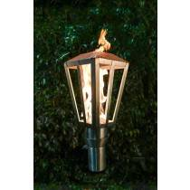 Lantern  Top Torch - Gas Tiki Torch