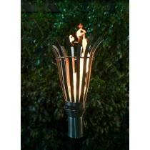 Modern Top Torch - Gas Tiki Torch