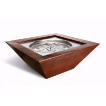 "40"" Sedona Copper Fire Bowl"