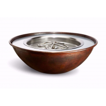 "31"" Tempe Copper Fire Bowl"
