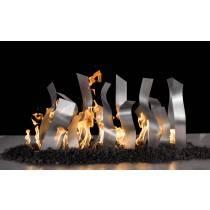 Tangled Fire Burner - Stainless Steel - Sets Over Existing Burner | Starting at $1,100