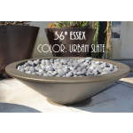 "36"" Essex Fire Bowl - Urban Slate  