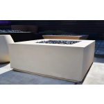 "42"" x 42"" Aura Fire Table - Limestone"