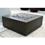 """42"""" x 42"""" Aura Fire Table - Urban Slate"""