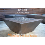 "42"" Kona Fire Table - Color Example - Dark Walnut"