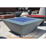 "42"" Kona Fire Table - English Lead"