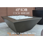 "42"" Kona Fire Table - Color Example - Urban Slate"