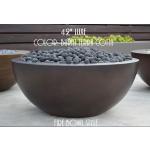 "42"" Luxe Fire Bowl - Burnt Terra Cotta"