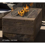"48"" Catalina Wood Fire Pit - Oak"